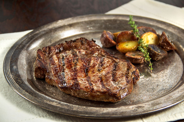 Ribeye is know for it's juicy flavor.